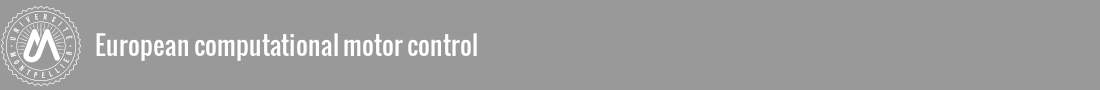European Computational Motor Control Logo